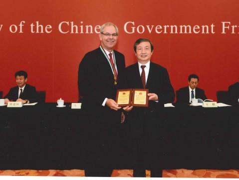 我校顾问教授Scott Laurence Friedman喜获2014年中国政府友谊奖